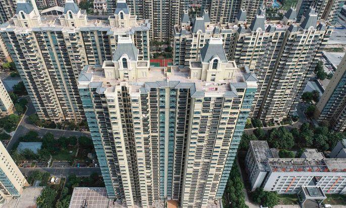 Die Immobilienbranche ist ein bedeutender Faktor für Chinas Wirtschaft. Wer es sich leisten kann, investiert sein Geld in Wohnungen.