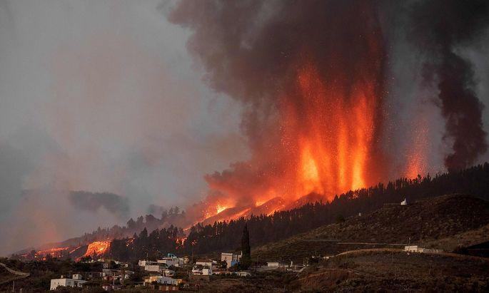 Die Bewohner mehrerer Siedlungen auf La Palma mussten in Sicherheit gebracht werden.