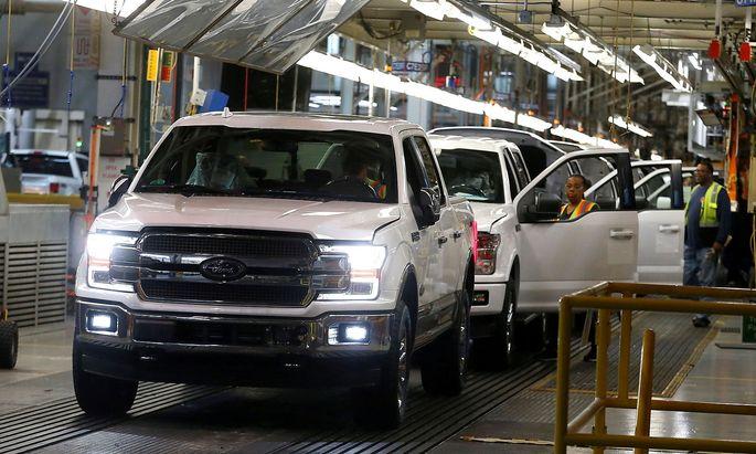 2,5 Mrd. Dollar wird Ford die Chipkrise kosten.