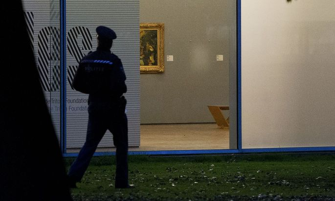 Spektakulärer Kunstdiebstahl in Rotterdam