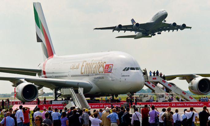Rekordauftrag Emirates kauft Airbus