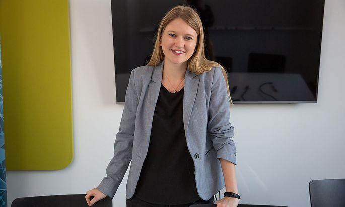 """""""Wir wollen Vorkehrungen treffen, dass die Technologie nur für Gutes eingesetzt wird"""", sagt Prewave-Gründerin Lisa Smith."""