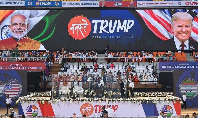 INDIA-US-DIPLOMACY-TRUMP