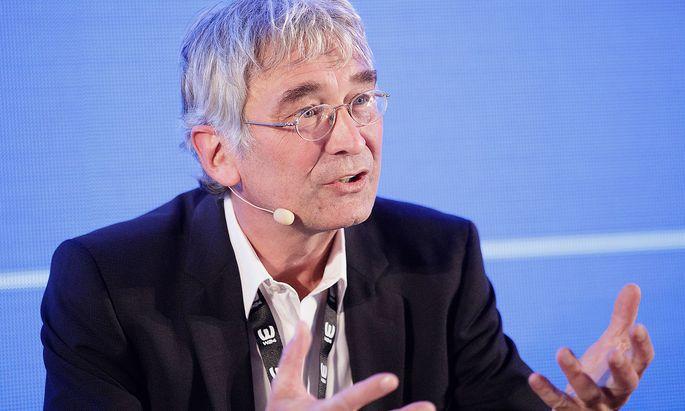 """Archivbild vom entlassenen Chefredakteur der """"Wiener Zeitung"""", Reinhard Göweil."""