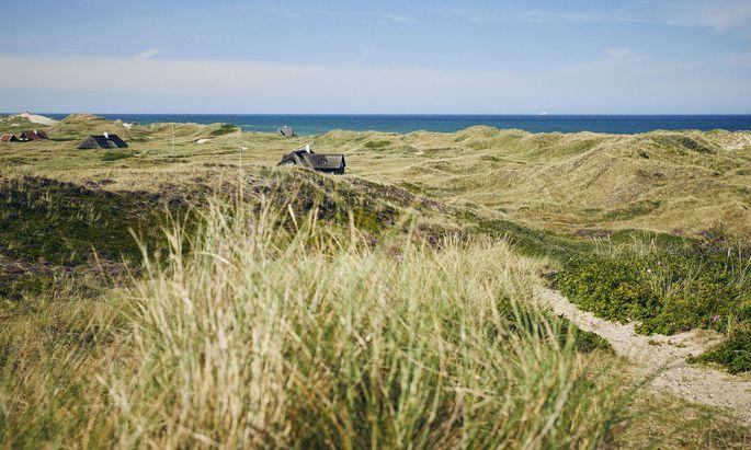 Im Norden Dänemarks prägen Dünen und lange Sandstrände das Bild. Und Bilder.