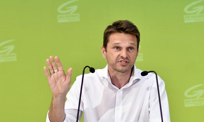 Der grüne Parlamentsklubobmann Albert Steinhauser will den Fokus der Partei auf Klimaschutz und Sozialpolitik richten.