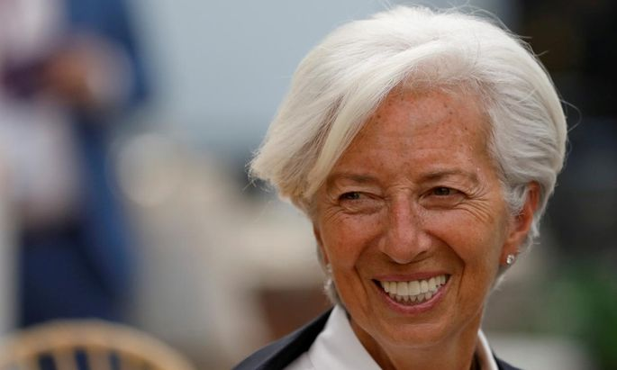 Die zukünftige EZB-Chefin Christine Lagarde könnte Krypto-Euro ausgeben.