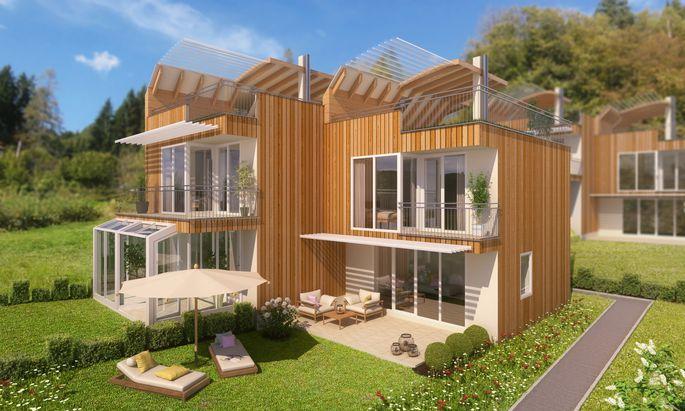 """Das Projekt """"Gartendachhaus"""" hat alles, was Hundebesitzern wichtig ist."""