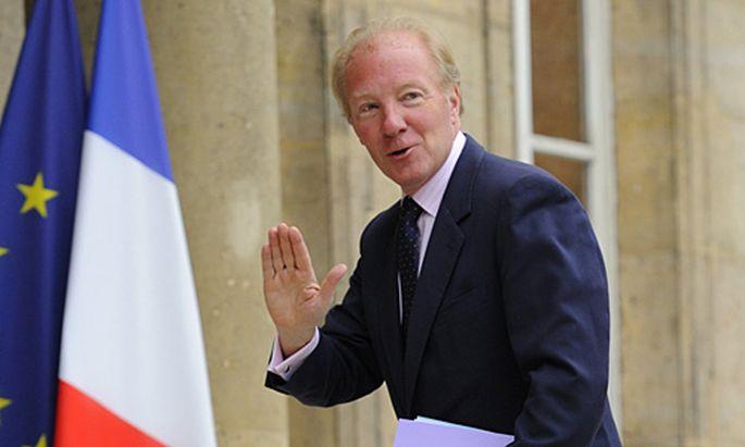 Frankreichs Innenminister Brice Hortefeux.