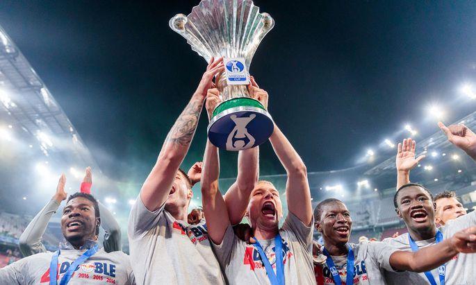 FUSSBALL: �FB SAMSUNG CUP / FINALE / SK RAPID WIEN - FC RED BULL SALZBURG