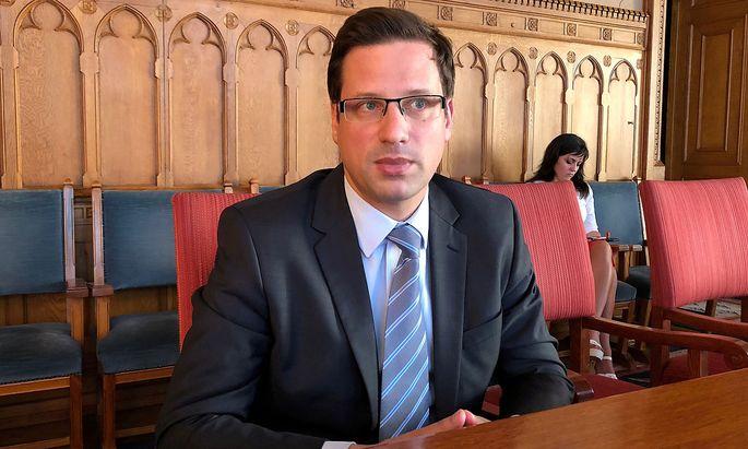 Archivbild aus dem Jahr 2019 vom nunmaligen Kanzlerminister Gergely Gulyás.