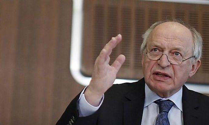 Archivbild: Der scheidende IHS-Chef Bernhard Felderer
