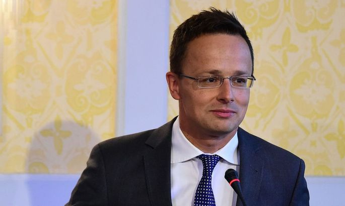 Ungarns Außenminister Peter Szijjártó