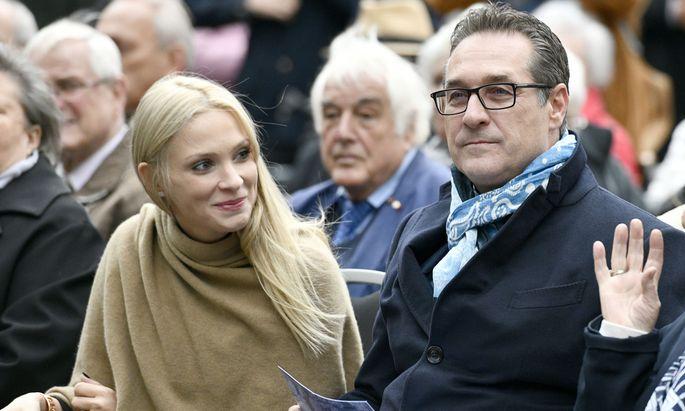 Philippa Strache, Vizekanzler Heinz-Christian Strache