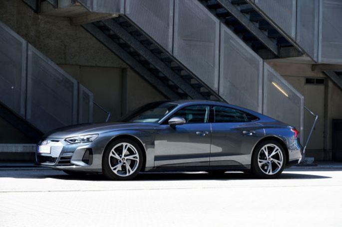 Ein Gran Turismo, wie er im Buche steht, nur elektrisch: Audi E-Tron GT.