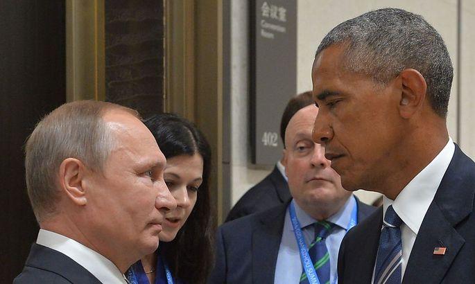 Die Präsidenten Putin (l.) und Obama auf einem Archivbild