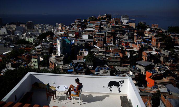Die ersten Fälle von Covid-19 gab es in Rio de Janeiro nicht in den Favelas.