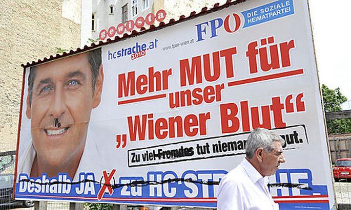 Marek zu FP-Plakaten: