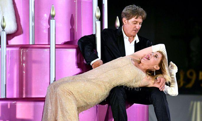 Tobias Moretti und Caroline Peters.
