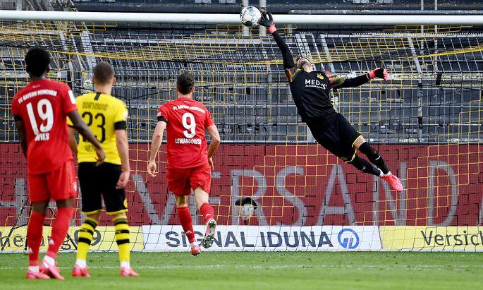 Dortmund-Keeper Roman Bürki konnte die Niederlage seiner Mannschaft nicht verhindern.