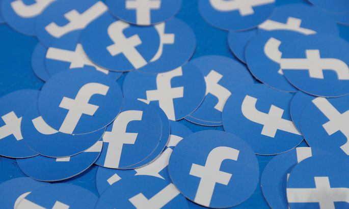 FILE PHOTO: Stickers bearing the Facebook logo are pictured at Facebook Inc´s F8 developers conference in San Jose