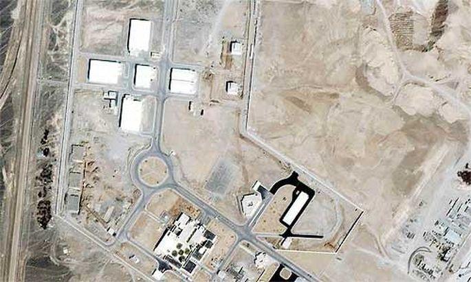 Atomanlage in Natanz, Iran