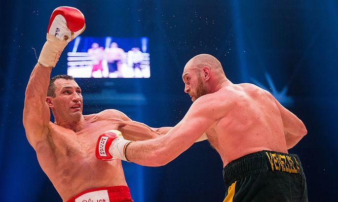 Wladimir Klitschko gegen Tyson Fury
