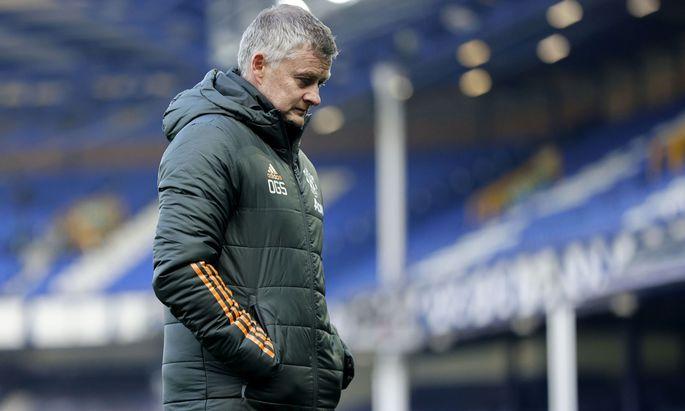 Manchester-Coach Ole Gunnar Solskjaer.