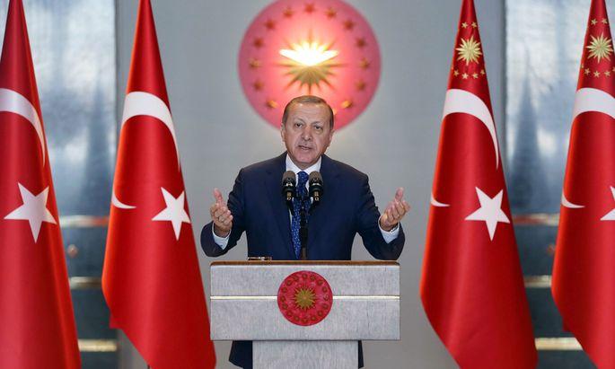 Der türkische Staatschef Recep Tayyip Erdoğan.