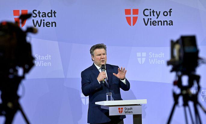 Wiens Bürgermeister Michael Ludwig.