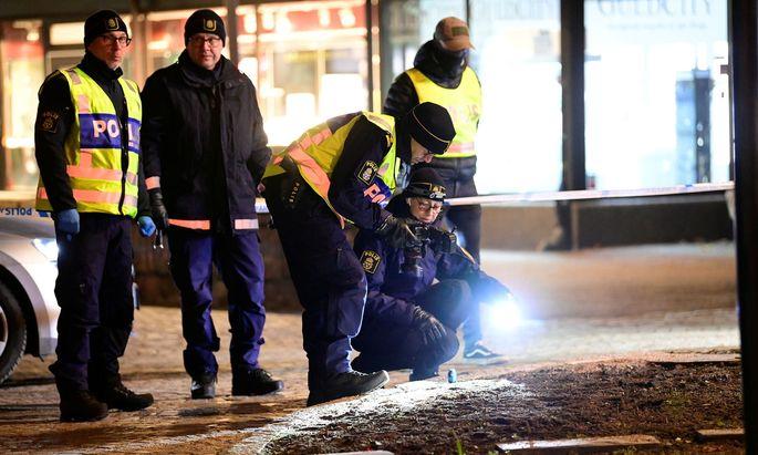 Ermittlungen in der schwedischen Kleinstadt Vetlanda