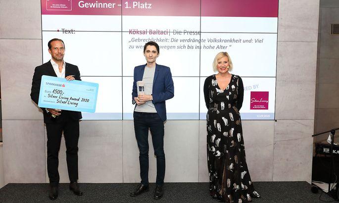 Verleihung Silver Living JornalistInnen Award