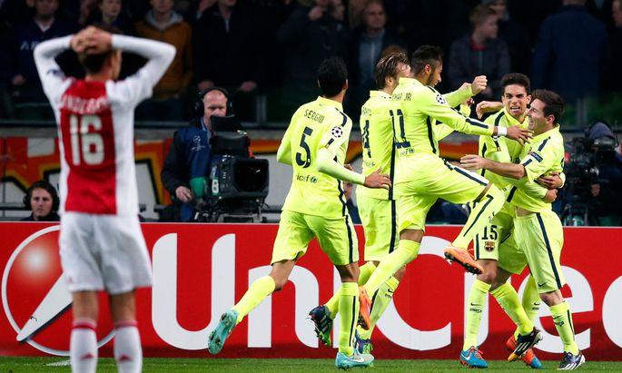 SOCCER - CL, Ajax vs Barcelona