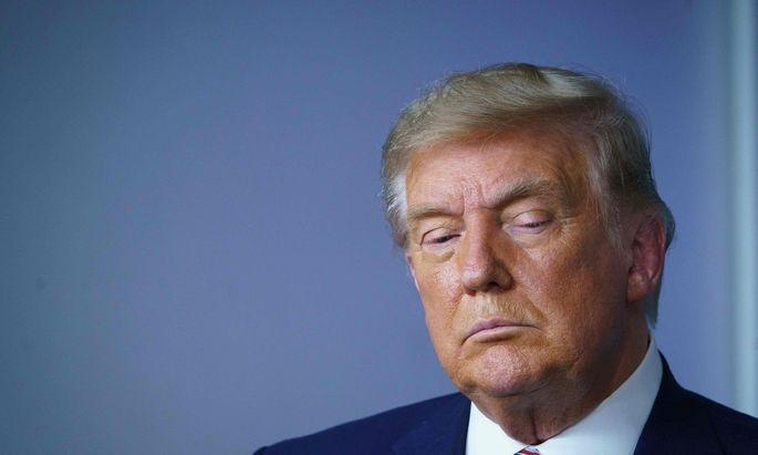 Will Niederlage nicht eingestehen: Der amtierende US-Präsident Donald Trump.