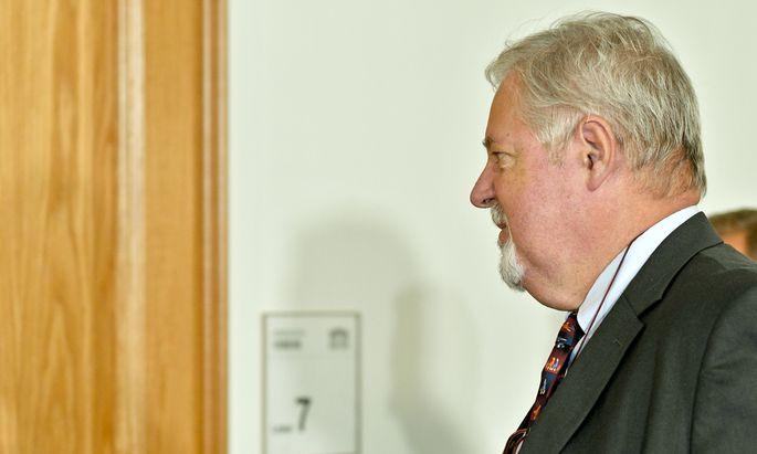 Am Montag wurde BVT-Direktor Peter Gridling als Zeuge geladen.