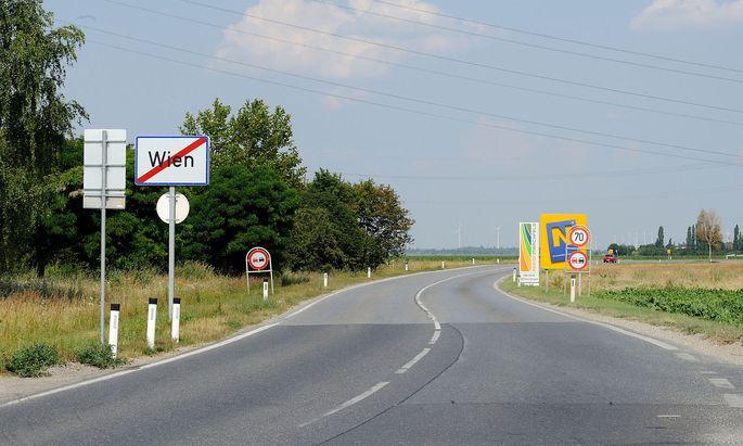 Viele Wiener siedeln sich in den Umlandgemeinden an.