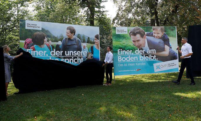 Austrian Peoples Party (OeVP) Secretary General Nehammer addresses the media in Vienna