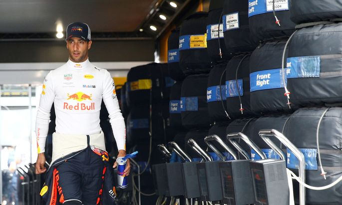 """""""Eine der härtesten Entscheidungen"""": Sieben Grand Prix gewann Ricciardo mit Red Bull, nun geht er."""