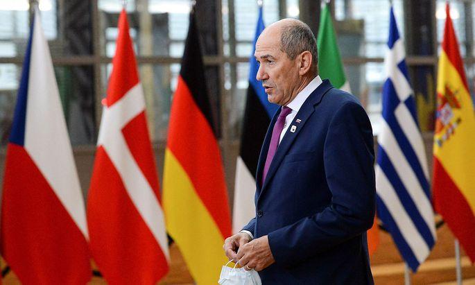 FILES-BELGIUM-EU-SLOVENIA-POLITICS-MEDIA-RIGHTS