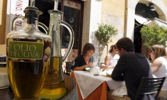 Baldiges fuer OlivenoelKaennchen Restaurants