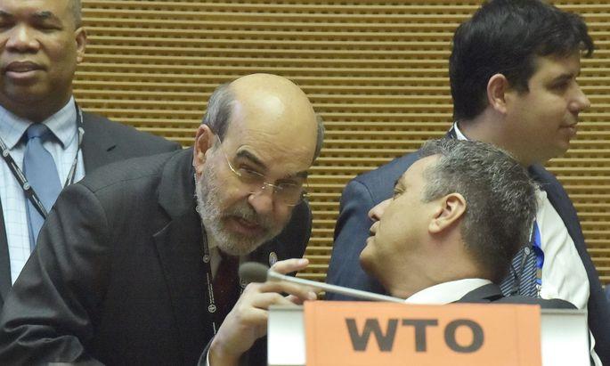 Die Welthandelsorganisation steuert auf eine beispiellose Krise zu