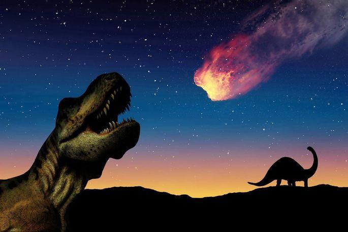 So könnten die Dinosaurier den Einsturz vor 66 Millionen Jahren erlebt haben.