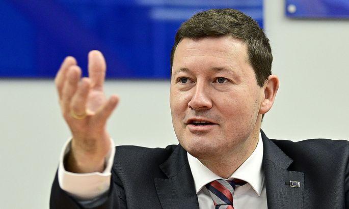 Archvbild von Martin Selmayr, dem Vertreter der EU-Kommission in Wien.