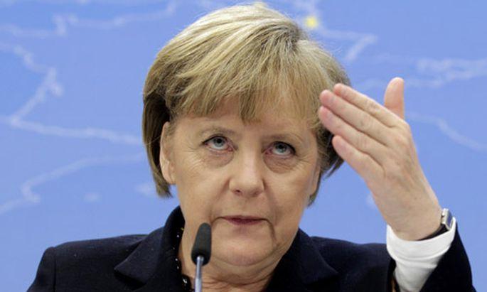 Merkel bdquoDas Ende frei