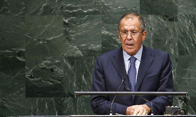 Außenminister Sergej Lawrow