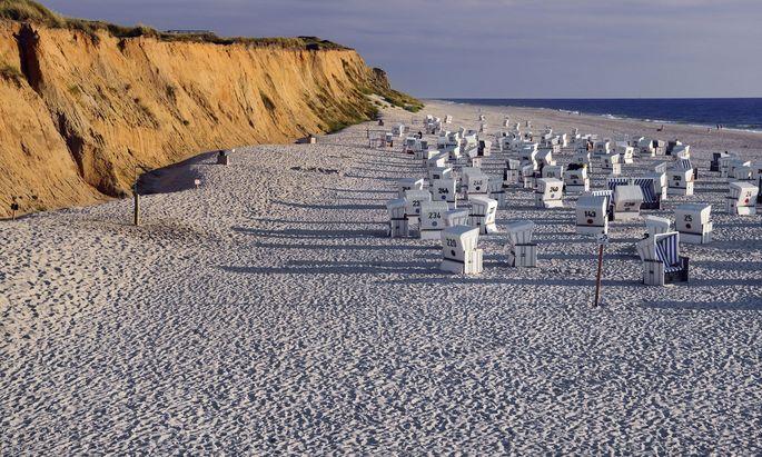 Zum Strand ist es auf Sylt nie weit.