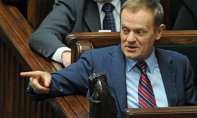 Die Abstimmung gilt als schwere Niederlage des polnischen Premiers Donald Tusk.
