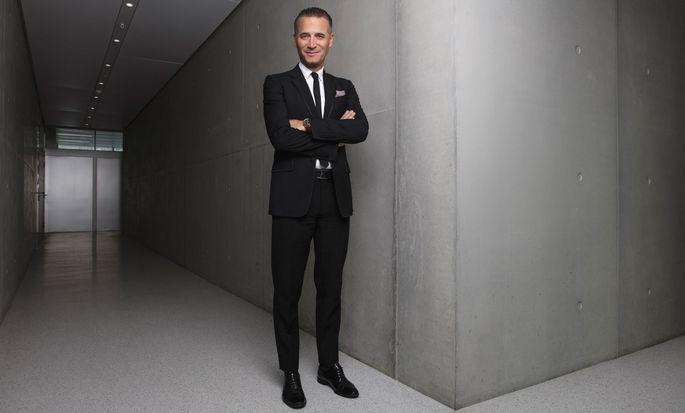 Raynald Aeschlimann ist seit 25Jahren bei Omega tätig, seit 2016 als CEO.