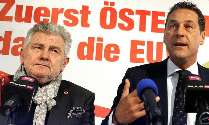 Mölzer, Strache, FPÖ