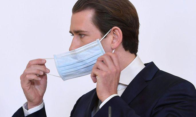 Archivbil von Bundeskanzler Sebastian Kurz, der im ORF für Verständnis für die Maßnahmen gegen das Coronavirus warb.
